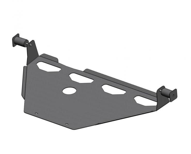 Protector tránsfer acero zincado 4mm Amarok