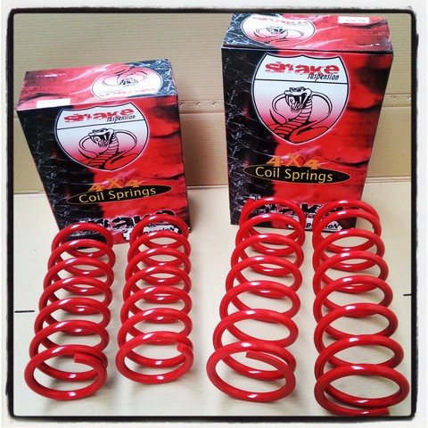Kit 4 Muelles elevados Snake +5cm Land Rover Discovery 200/300