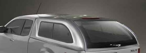Hard Top Mazda BT-50 2012-> Extra Cabina ventanas correderas (pintado)