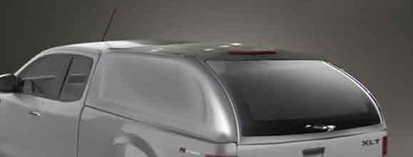 Hard Top Mazda BT-50 2012-> Extra Cabina sin ventanas (pintado)