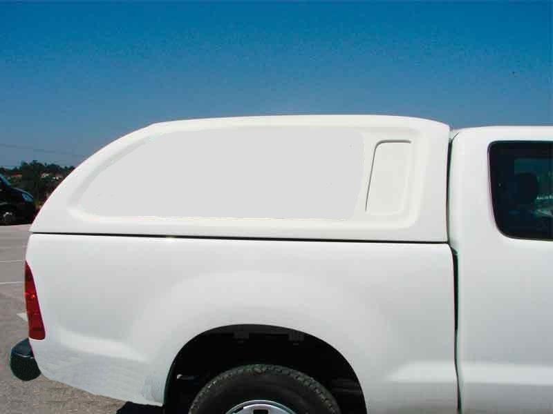 Hard Top Toyota Hilux Vigo Simple Cabina sin ventanas (pintado)