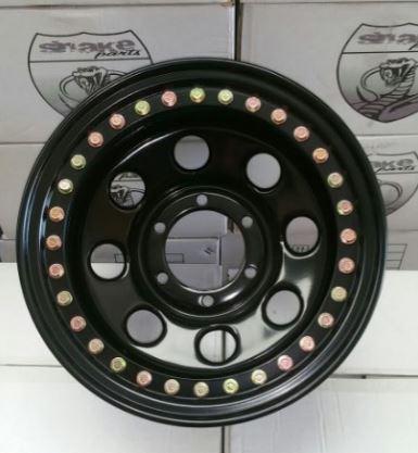 Llanta acero Beadlock real 8X15 6x139,7 ET-25