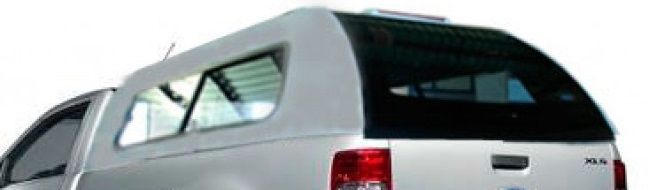 Hard Top Mazda BT-50 2012-> Simple Cabina con ventanas correderas (pintado)