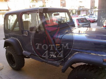 Snorkel adaptable Jeep Wrangler YJ 2.5