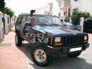 Snorkel adaptable a Jeep XJ 2.5 diesel