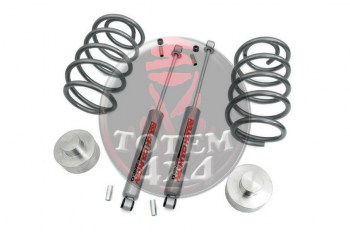 Kit de elevación Rough Country +3pulgadas (+7,5cm) Jeep Liberty KJ 2002-2007
