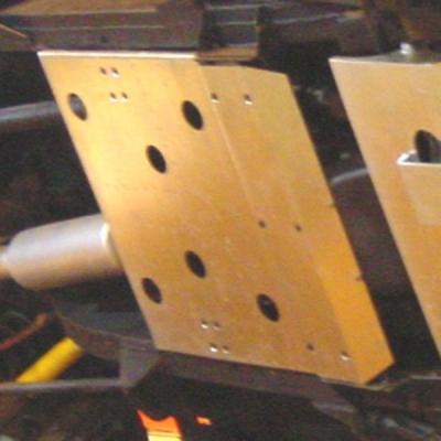 Protector tránsfer en acero zincado 4mm Defender 90 TD5/TD4 (1998-)