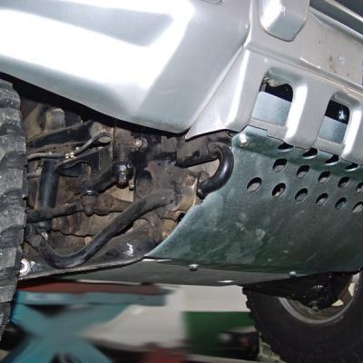 Protector b.dirección, diferencial en acero 4mm Montero V20