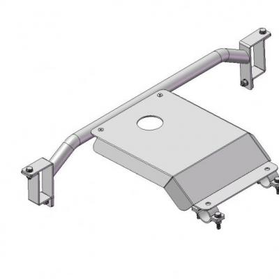 Protección de tránsfer en duraluminio 6mm Vitara