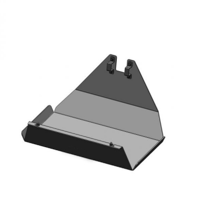 Protección depósito duraluminio 6mm Land Cruiser 76-78-79