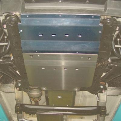 Protector ba.dirección aluminio 6mm Grand Vitara 2005-2008