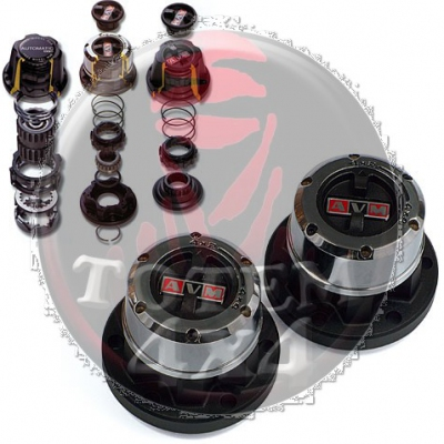 Liberadores de rueda AVM para Nissan Navara D21 (27 estrias)