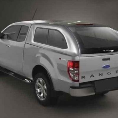 Hard Top Ford Ranger Extra Cabina ventanas correderas