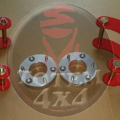 Kit de elevación tacos y gemelas articuladas L200 Triton
