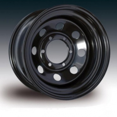 Llanta modular acero negra 10x15 6x139,7 ET-44